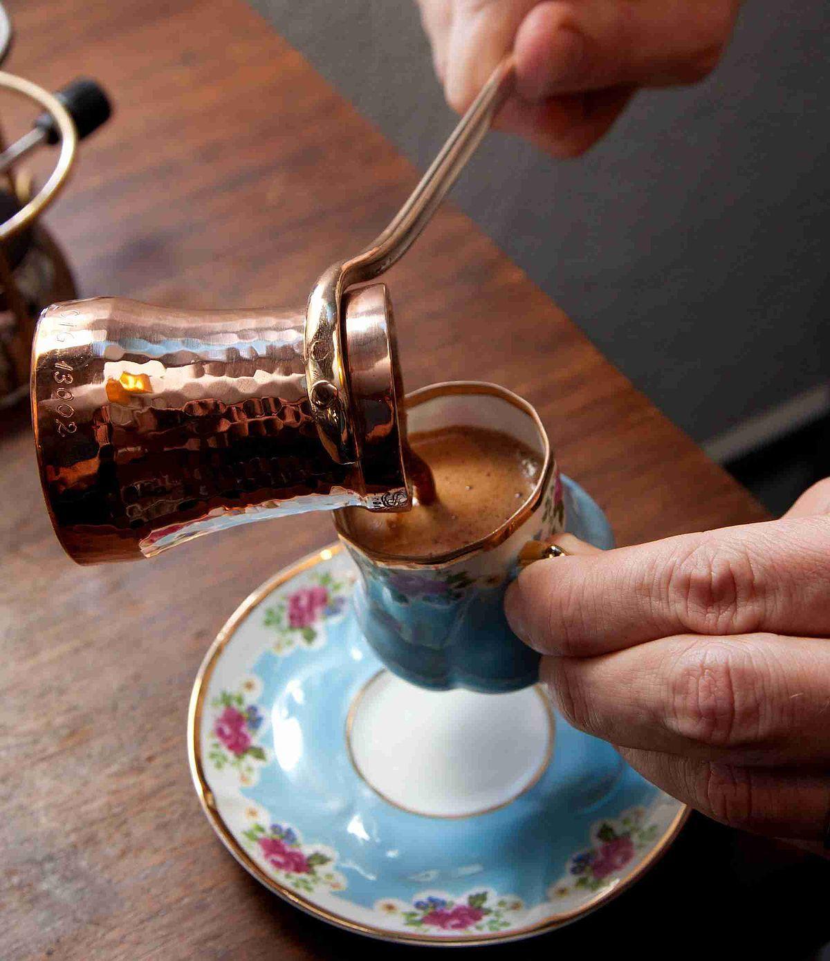 Türk Kahvesi Bakir Cezve