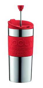 BODUM TRAVEL PRESS SET ROOD
