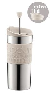 BODUM TRAVEL PRESS SET WIT