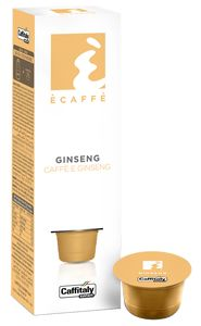 CAFFITALY 10 CAPSULES ECAFFE GINSENG COFFEE