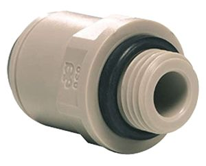 JOHN GUEST CONNECTOR TUBE 3/8 X MALE 1/4