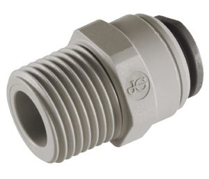 JOHN GUEST CONNECTOR TUBE 3/8 X MALE 3/8