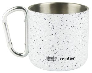 ASOBU CAMPFIRE MUG 350ML WIT