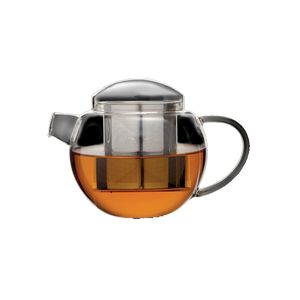 LOVERAMICS PRO TEA GLASS TEAPOT WITH INFUSER 600ML CLEAR