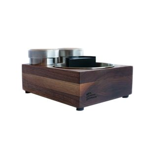 SAINT ANTHONY IND. BLOC PARTY TAMPER STAND WALNUT