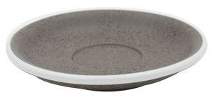 LOVERAMICS SAUCER ESPRESSO GRANITE